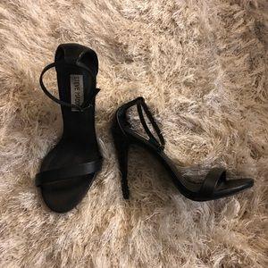 Steve Madden Shoes - Steve Madden - Black Ankle Strap Heels
